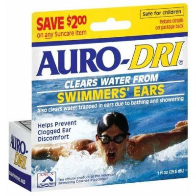 Auro-Dri Swimmer`s Ear Liquid 1 OZ (PACK OF 2)