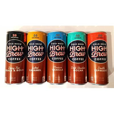 30 Pack - High Brew Coffee - Variety Pack - 8oz.