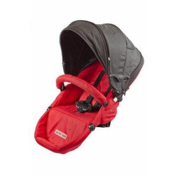 guzzie+Guss G+G 1+1 Gabriola Stroller 2nd Seat, Red