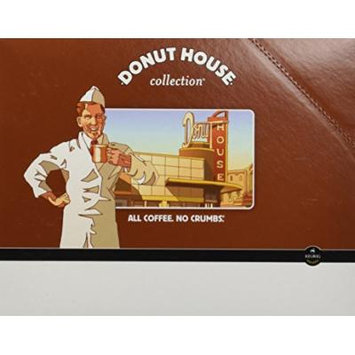 Donut House Collection, Donut House Decaf, K-Cup Portion Pack for Keurig K-Cup Brewers (Pack of 48)