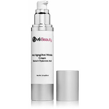 Anti Aging Face Cream With both Retinol and Hyaluronic Acid! LARGE 2 Oz. size