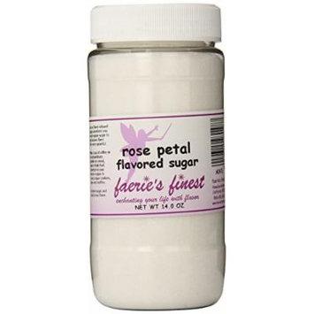 Faeries Finest Sugar, Rose Petal, 14.0 Ounce