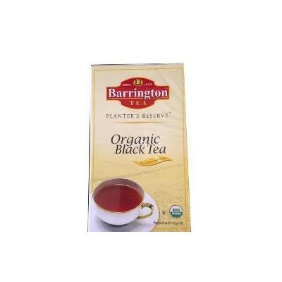 Barrington Planters Reserve Organic Black Tea 100 Tea Bags with Unbleached Tea Bag Paper