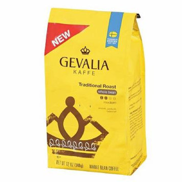 Gevalia Kaffee Traditional Roast, Whole Bean Coffee 12 oz