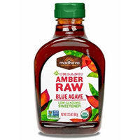 Madhava Organic Amber Agave Nectar, 23.5 Ounce (Pack of 6)