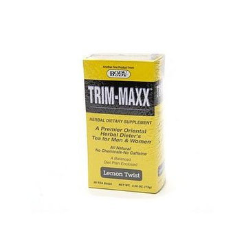 Body Breakthrough Trim-Maxx Herbal Dieter's Tea for Men & Women, Lemon Twist 30 bags