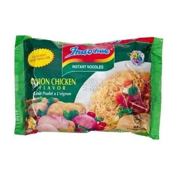 Indomie Instant Noodle - Onion Chicken Flavor (Pack of 60)