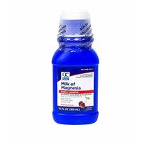 Quality Choice Milk Of Magnesia Cherry Flavor 12 Fluid Ounces (355ml) , Plastic Bottle (Pack of 6)