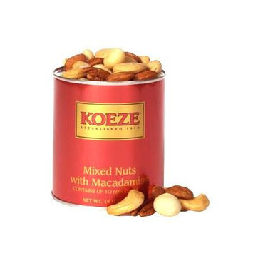 Mixed Nuts with Macs - 14 oz. Gift Tin