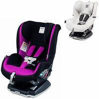 Peg Perego Primo Viaggio Infant Convertible Car Seat w Clima Cover, White (Fleur)