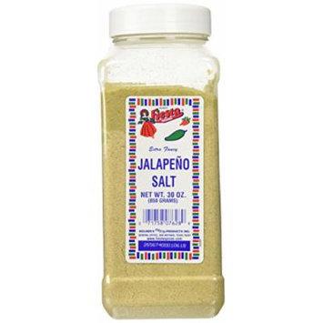 Bolner's Fiesta Extra Fancy Jalapeno Salt, 30 Oz.