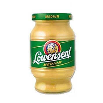 Lowensenf Medium Mustard, 8.45 oz (250g) Jar