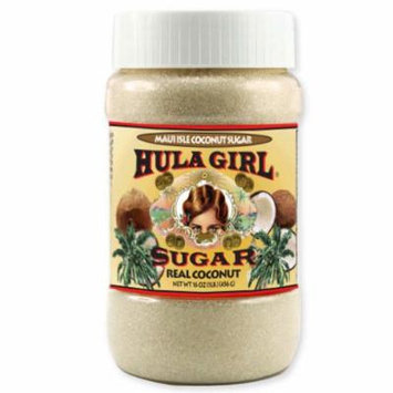 Hula Girl Maui Isle Coconut Sugar 16oz