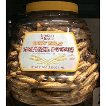 Berkley and Jensen Honey Wheat Retzel Twists, 42 Oz