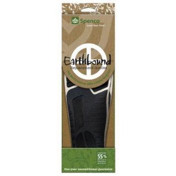 Spenco Earthbound Insoles - Black/White, Men's 12-13
