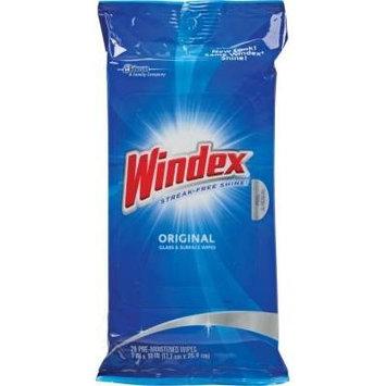 Windex® Cleaner Wipes, 28 Wipes/Pack