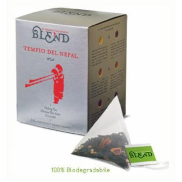 Tempio Nepal Tea, 15-Count Individually Wrapped Pyramid Tea Bags