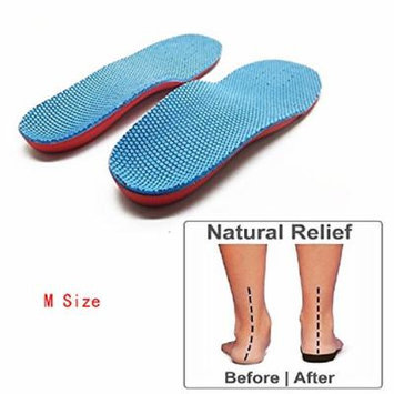 Orthotic Arch Support Flat Foot Flatfoot Correction Foot Pain Relief Shoe Insole for Children Kids M Size