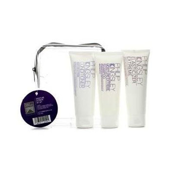 Philip Kingsley 16448104114 Moisture Extreme Jet Set - Shampoo 75ml Plus Conditioner 75ml Plus Elasticizer Extreme 75ml - 3pcs