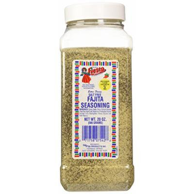Bolner's Fiesta Extra Fancy Salt Free Fajita Seasoning, 20 Oz.