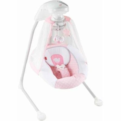 Fisher-Price Starlight Cradle 'n Swing PINK with AC adapter bonus