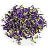 Premium Natural Blue Mallow (Malva sylvestris) Flower Loose Leaf Herbal Tea 2 Oz. Bag