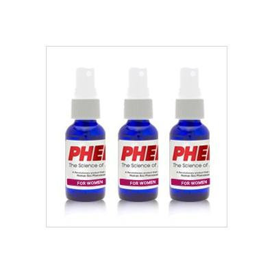 PherX Pheromone Perfume for Women (Attract Men) - The Science of Attraction - 3 Pack