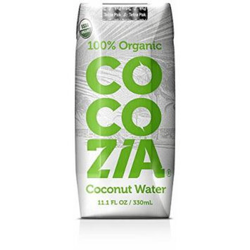 Cocozia 100% Organic Coconut Water 11.1 Oz (Pack of 12)