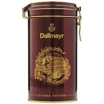 Dallmayr Dyawa Antara Ground Coffee Gift Tin, Bronze, 17.6 Ounce