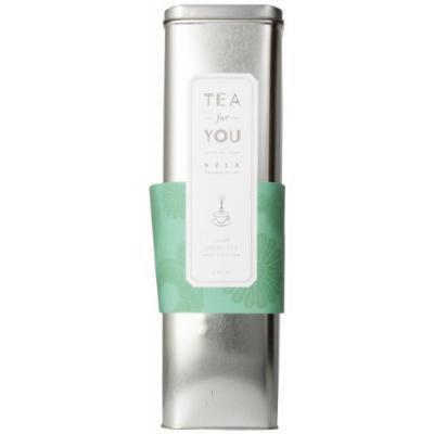 Xela Limited Edition Tea For You, Mint Green Tea, 8-Ounce Tin