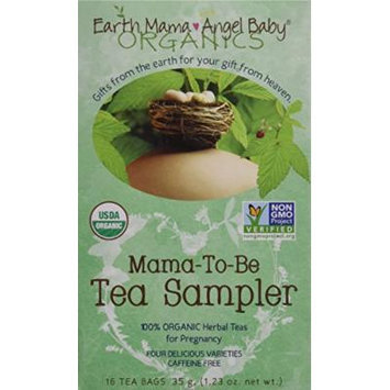 Earth Mama Angel Baby Tea Sampler, 16 Count