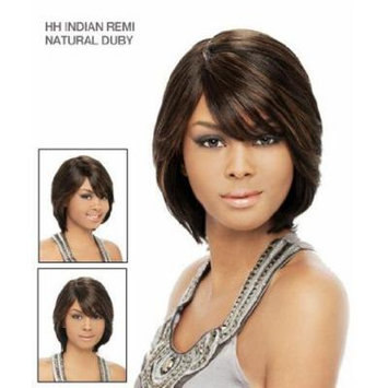 It's a Wig 100% Indian Remi Human Hair Natural Duby Color 4