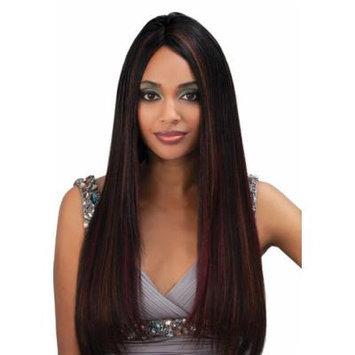 IndiRemi® Virgin Remi Hair Weave - NATURAL YAKY WEAVING (22 INCH, 2-DARK BROWN)