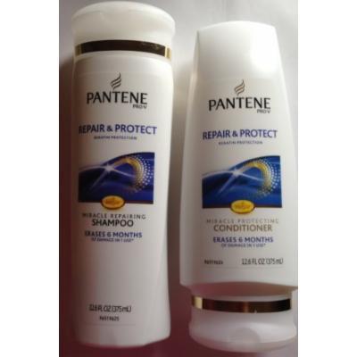 Pantene Pro-V Repair & Protect Keratin Protection Shampoo and Conditioner Set (12.6 oz. each)
