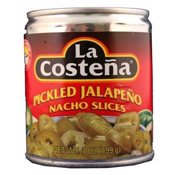 La Costena Pickled Jalapeno Nacho Slices 7 Oz Pack of 9 Cans