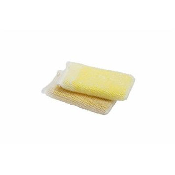 AISEN KS303Y 2 Count Foam and Scrub Sponges (12 Pack), Yellow