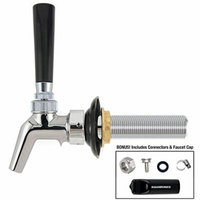 Perlick 630SS Stainless Steel Faucet Kit, includes: 4