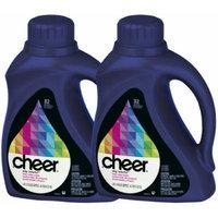 Cheer Liquid Detergent, Fresh Clean Scent, 50 oz, 32 loads