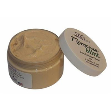 Moroccan Mint Scented Anti Cellulite Cream, 4 oz,with Indian Ginseng, Oregano, Horsetail, Juniper Berry, Coffee, Caffeine and More,By Diva Stuff