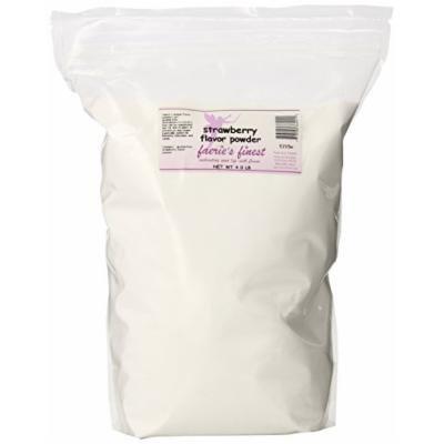 Faeries Finest Flavor Powder, Strawberry, 4.00 Pound