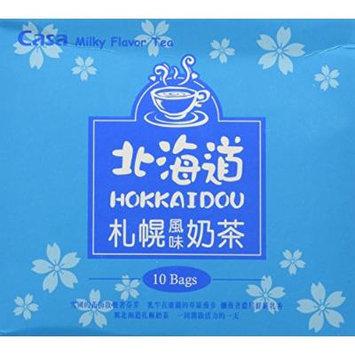 Casa Milky Flavor Tea, Hokkaidou Sapporo, 10-count Boxes (Pack of 1)