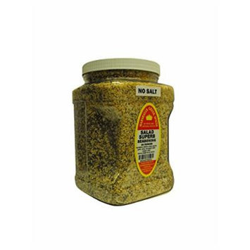 Marshalls Creek Spices Family Size Salad Superb No Salt (Compare to Salad Supreme), 44 Ounce