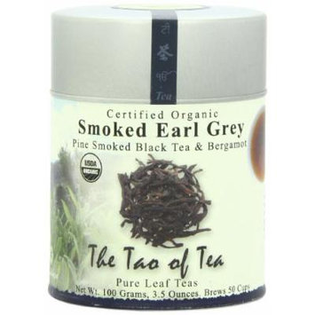 The Tao of Tea, Smoked Earl Grey Black Tea & Bergamot, Loose Leaf, 3.5 Ounce Tin