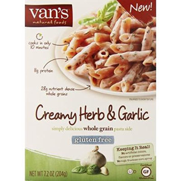 Van's Simply Delicious Creamy Herb and Garlic Pasta Side, 7.2 Ounce