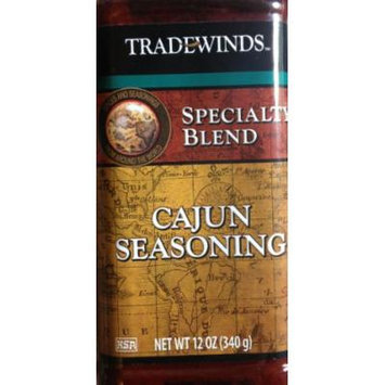 12oz Trade Winds Cajun Seasoning Specialty Blend (One Bottle Per Order)