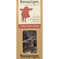 teapigs Rooibos Creme Caramel Tea, 15 Count (Pack of 6)