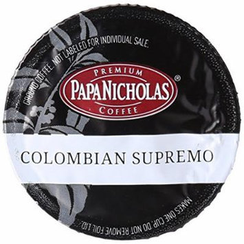 PapaNicholas Coffee Single Serve Coffee Cups Fits Keurig K Cup Brewers, Colombian Supremo, 12 Count