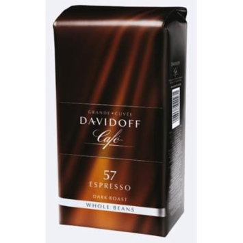 Davidoff Espresso 57 Whole Beans 2 Packs X 17.6oz/500