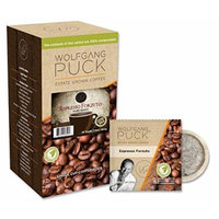 Wolfgang Puck Coffee, Espresso Forzuto, 12 Gram Pods-16 count package