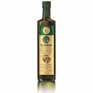 Kalamata PDO Iliada Greek Kalamata Extra Virgin Olive Oil, Organic, 17 fl oz